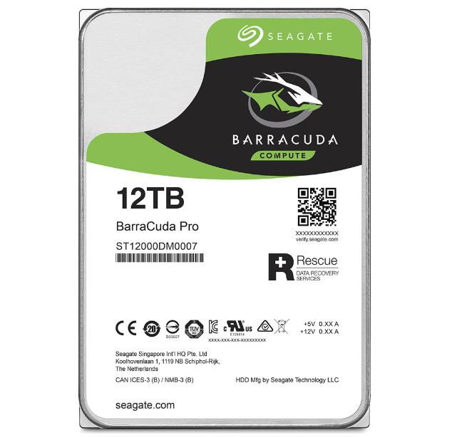SEAGATE HDD ST12000DM0007 12000GB